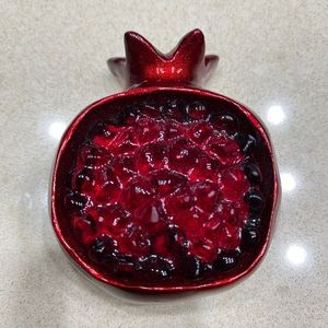 Pomegranate hand made magnet